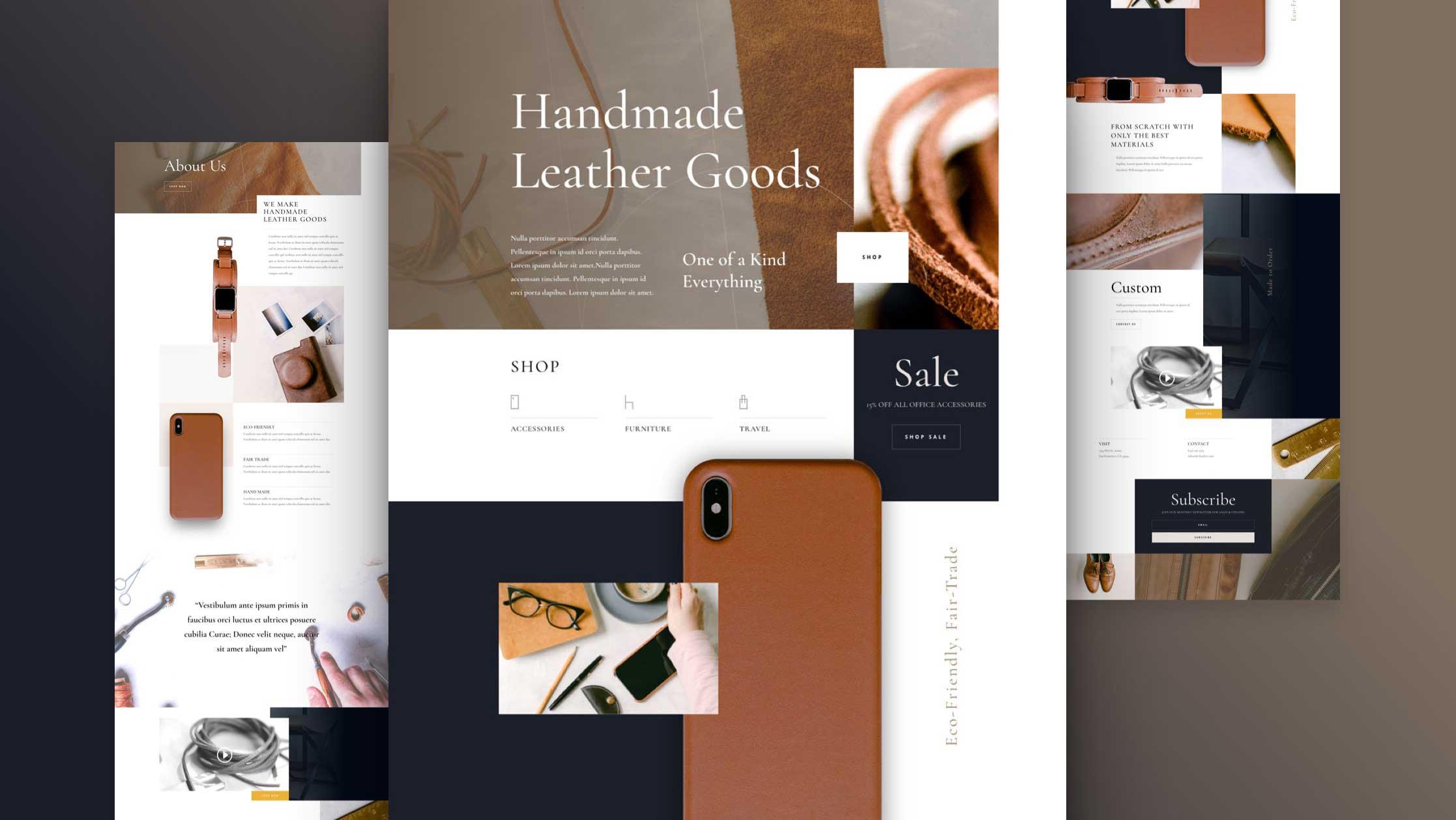 Handmade Goods Website