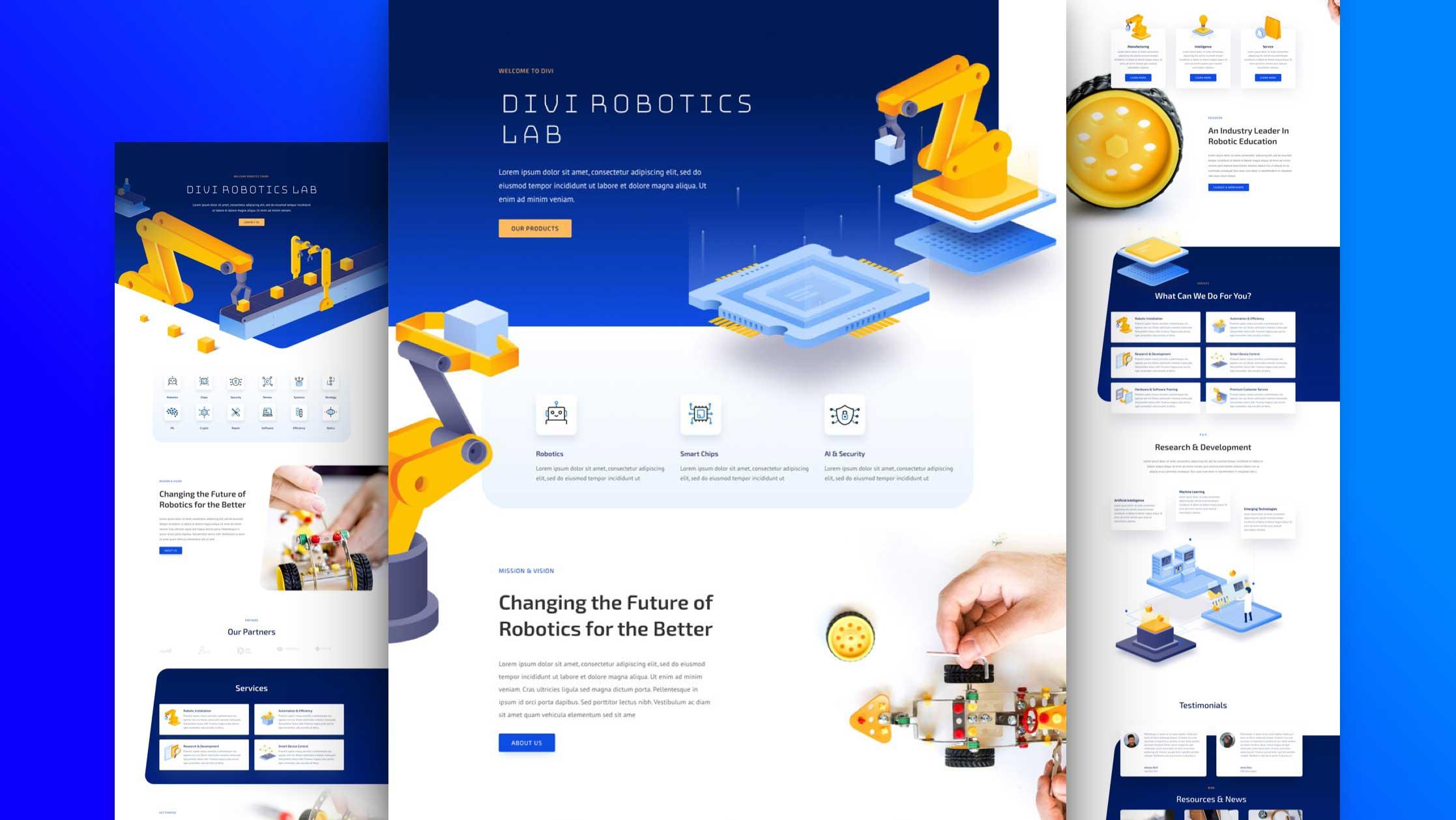 Professional Robotics / Electronics Website